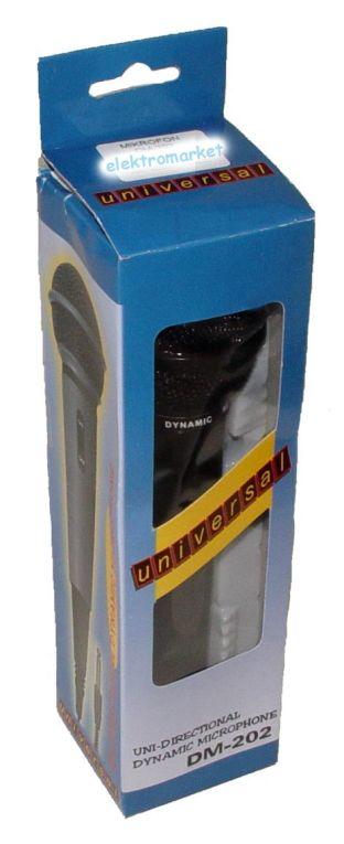 Mikrofon DM-202 MIK0005 box
